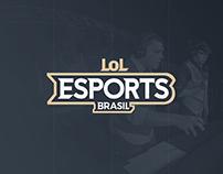 LoL eSports Brasil - Brand Design (2018)