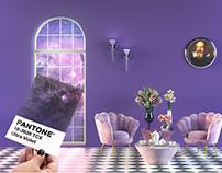 """Ultraviolet Living"" - Pantone 2018"