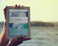 Web site for surf school