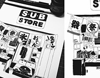 SUBStore: Midnight Ink Sketch