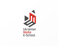 Logo design for Media E-School