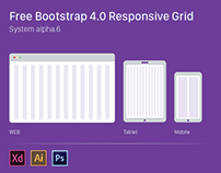 Free Bootstrap 4.0 Responsive Grid