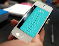 Concept for IOS App for night club ITAKA