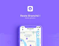 Reste Branché - Mobile application