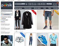 Web site for online store - Persik
