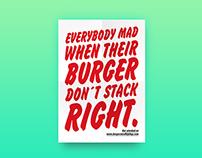 Burgers & Hip Hop – Posters