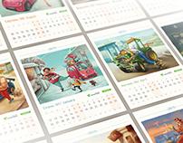 OKKO - Calendar 2015