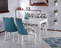 Yemek masası ve oturma grubu