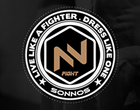 Sonnos Fight Branding