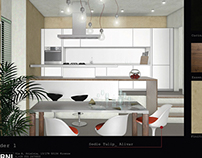White Privat Kitchen