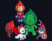 Hotdeal Mascot - Marvel Character