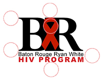 Baton Rouge Ryan White HIV/AIDS Program Logo Mark