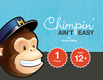 """Chimpin' Ain't Easy"" Card Game"