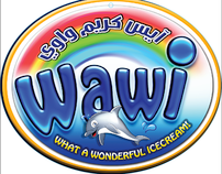 Wawi ice cream Branding