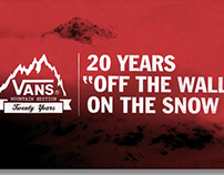 Vans 20 Years on Snow Anniversary Film | Branding