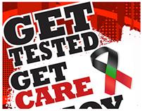 Baton Rouge Ryan White HIV/AIDS Program Flyers