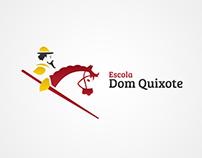 Redesign Logotipo - Escola Dom Quixote
