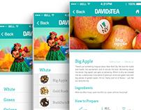 Davids Tea App