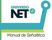 """Manual de Señaletica """"Universo NET"""""""