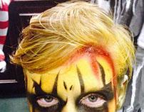 Fright fest 2014 makeup