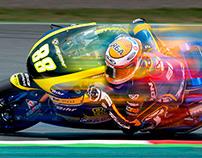 Ricky Cardús 2014 MotoGP rider