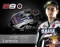 Jorge Lorenzo 2012, MotoGP rider