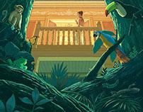Hidden Treasures (Luxury Travel Magazine cover, 2014)