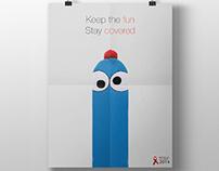Print Ads - Whiskas / UHU / Nurofen / World AIDS Day