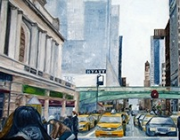 Grand Central Station, NYC. Oil on Canvas.