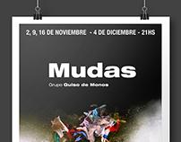 Mudas, Theatre Poster