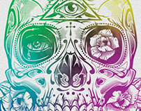 Vengeance Sugar Skull T-shirt