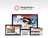 Slogan creation for an unusual company (NagyNap.hu)