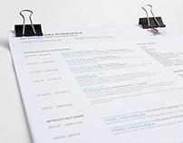 My Resume/CV