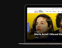 Teatre Auditori de Granollers / Web Design
