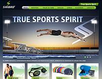 Sporting Goods and Swimwear Website