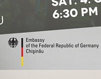Embassy of the Federal republic of Germany. Chișinău