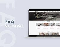 Web/redesign|FAQ介面優化