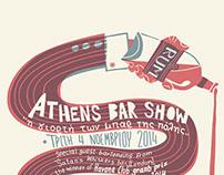 Athens bar show