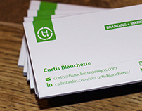 Business Cards - Blanchette Designs