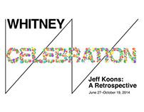 Jeff Koons: A Retrospective -CELEBRATION-