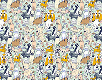Children's Wallpapers // Patterns Collection