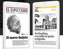Gabo, en El Espectador app