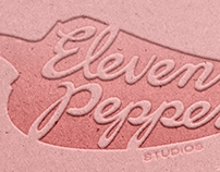Eleven Peppers Studio identity + Development