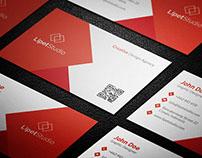 Lipet - Modern Business Card Template