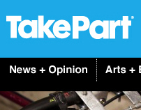 TakePart Website Redesign