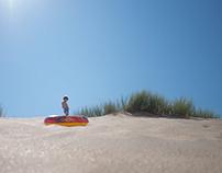 Make sand wet again