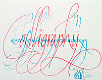 learning Calligraphy and Hand Lettering Collection - 4