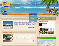 Layout and logo for cypriadatravel.pl