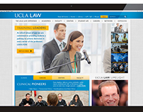 UCLA Law Website Re-Design