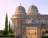 Arsitektur Rumah Dome Klasik di Lahat Sumatra Selatan